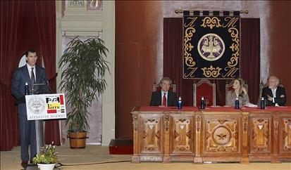 El Príncipe de Asturias inaugura los actos conmemorativos del bicentenario del nacimiento de Larra