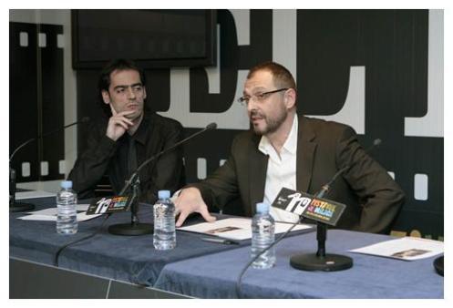 David Menkes y Alfonso Albacete, directores y guionistas de la película